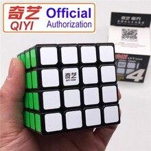 Magische Kubus 4X4X4 Qiyi Merk Qiyuan 161 Professionele Speed Cube Sticker Cubo Magico Educatief Speelgoed Voor kinderen Puzzel Geschenken