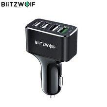 BlitzWolf-cargador USB para coche