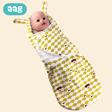AAG Cotton Cocoon for Newborns Envelope for Discharge Baby Sleeping Bag Swaddle Wrap Newborn Sleeping sack Bag in the Hospital цена