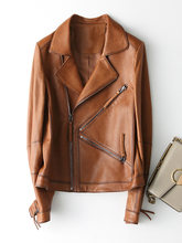 Fashion High Quality Genuine Women's Sheepskin Coats Women's Jackets Spring 2020 Female Leather Jacket Chaqueta Mujer Zjt349(China)