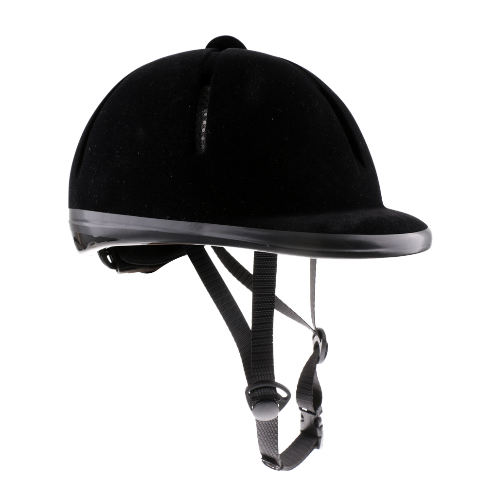 Unisex Sturdy Breathable Horse Riding Helmet Safety Velvet Equestrian Helmet For Men Women