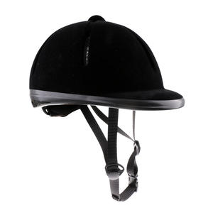 Helmet Horse-Riding for Men Women Velvet Sturdy Safety Breathable Unisex