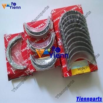Dla Yanmar 3D84 3TNA84 3TNB84 3TNE84 3TNV84 łożysko wału korbowego Conrod zestaw łożysk koparki Fit części silnika do wózka widłowego tanie i dobre opinie Yienn