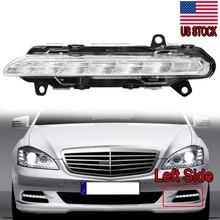 цена на MagicKit LED DRL Daytime Running Light Fog 2218201756 For Mercedes BENZ S-Class W221 S350 S500 2009 2010 2011 2012 2013