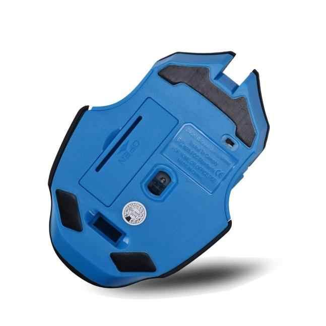 Ratón óptico inalámbrico para juegos de 2,4 GHz 6 botones Mini adaptador Plug and Play Mouse para computadora PC portátil #10