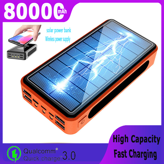 Portable  Solar Power Bank Large  1