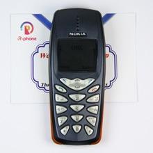 Оригинальный Восстановленный старый дешевый телефон Nokia 3510i разблокированный сотовый телефон с английской клавиатурой