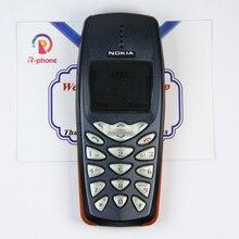 Original Nokia 3510i เก่าราคาถูกตกแต่งใหม่ NOKIA 3510i โทรศัพท์มือถือปลดล็อกแป้นพิมพ์ภาษาอังกฤษ