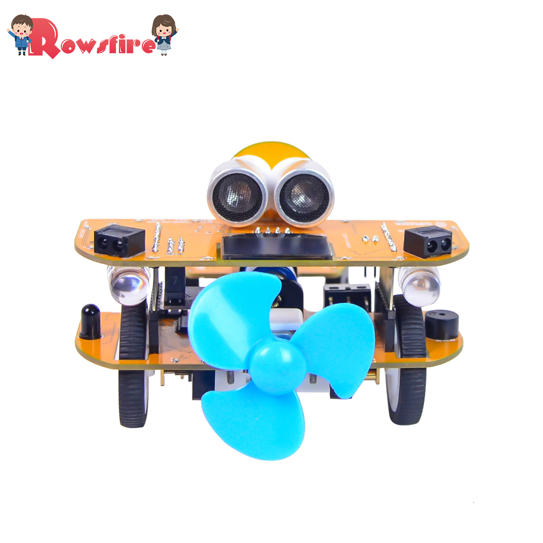 Programmable Intelligent Car Steam Educational DIY Plane With Graphical Processing Scratch Mixly 2 Type Toy Games