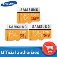 Samsung – carte mémoire micro sd, 64 go/128 go, classe 10, SDXC, 4K HD, haute vitesse, pour téléphone portable, enregistreur de conduite