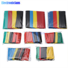 400pcs Polyolefin Heat Shrink Tube Mixed Color 8 sizes 1-14mm 2:1 Heat Shrink Tubing Wire Cable Sleeves Wrap Wire Assortment Set