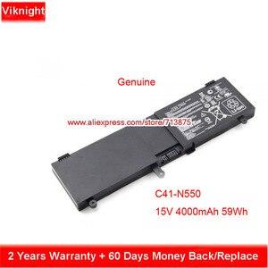 Оригинальный аккумулятор 15 в 59Wh C41-N550 N550JK для Asus N550JK N550J N550JK-CM452H G550 G550JK N550X47JV NJ550JV