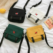 Embroidery Canvas Crossbody Bags for Women 2019 Summer New H