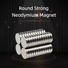 Неодимовый магнит небольшой Сильный Круглый различные размеры