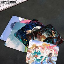 Beautiful Anime Howl's Moving Castle gamer play mats Mousepad Smooth Writing Pad Desktops Mate gaming mouse pad