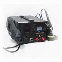 909D Smd Bga Rework Soldeer Station Hot Air Blower Heat Gun Intelligente Detectie En Koele Lucht Lassen Soldeerbout Reparatie tool