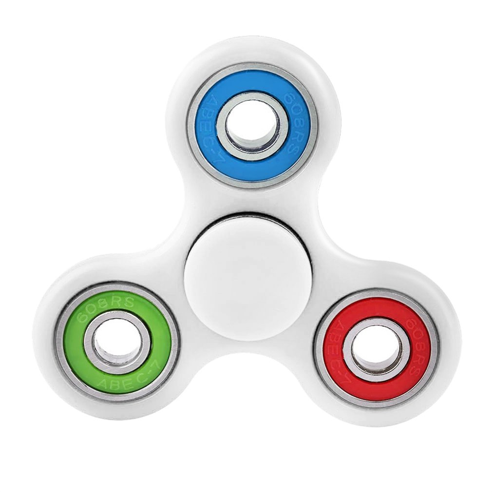 Kids Adults Hand Spinner Sensory Desk Focus Toy Anti Stress Finger Toys Have Great Fun For ADHD Autism