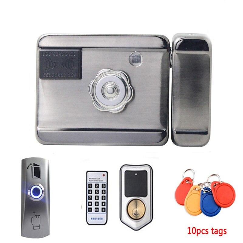 Electronic Door Lock IC Anti-theft Lock RFID Electronic Lock Castle Remote Control Lock Mobile APP Smart Remote Control