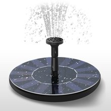 Hobbylane Solar Fountain Floating Garden Water Pool Pond Decoration Powered Pump