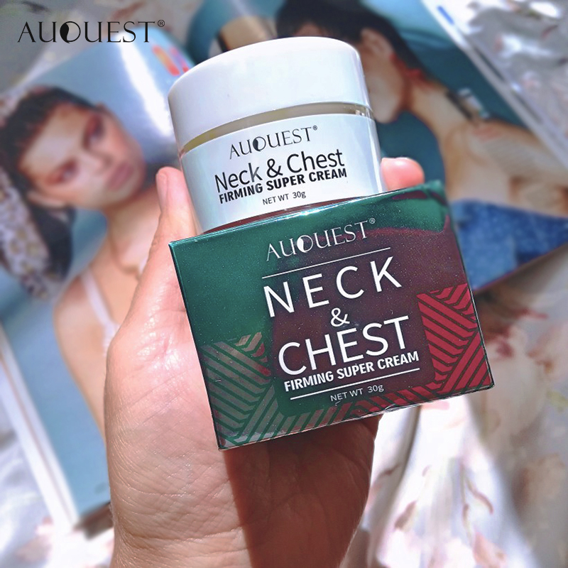 11.11 AuQuest Neck & Chest Wrinkle Cream Tight Skin Anti Aging Wrinkle Remover Lifting Skin Firming Cream Neck Cream Skin Care 5