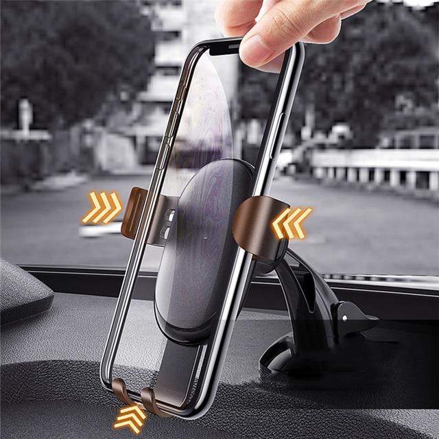 GETIHU Gravity Car Phone Holder Air Vent Clip 6