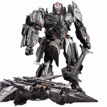 Newest Anime Transformation Toys Movie 5 Series 30CM Action Figure Robot Car Plastic ABS + Alloy WEI JIANG Model Child Boy Toy weijiang model tf wei jiang transformation robot metal optimus alloy