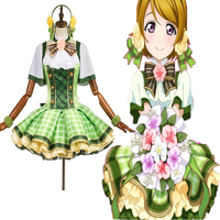 Anime Love Live! Cosplay Costume Hanayo Koizumi Bouquet Flowers Awakening Cosplay Costume Halloween Party Costume Customization