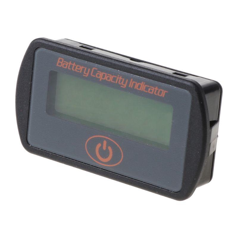 12 В 24 в ЖК дисплей Ёмкость аккумулятора вольтметр тестер Индикатор