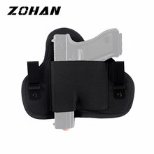 Tactical Compact Subcompact Pistool Holster Taille Case Zohan Gun Bag Jacht Accessoire Outdoor Cs Veld Onzichtbare Tactische(China)