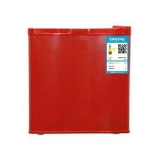 BD-40 40l única porta geladeira multiuso casa freezer colorido pequeno frigorífico congelador alimentos preservação do leite