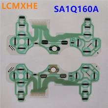 (5 adet/grup) orijinal İletken Film tuş takımı flex kablo SA1Q160A için PS3 titreşim kablosuz denetleyici joypad