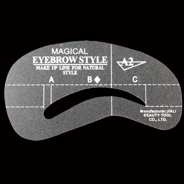 20Pcs Different Styles Eyebrow Stencil Grooming Stencil Kit Make Up Tools Eyebrow Templates for Women Eyebrows Stencil Cosmetics 3