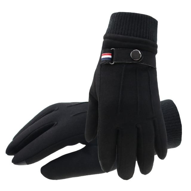 Winter Suede Men's Gloves  4