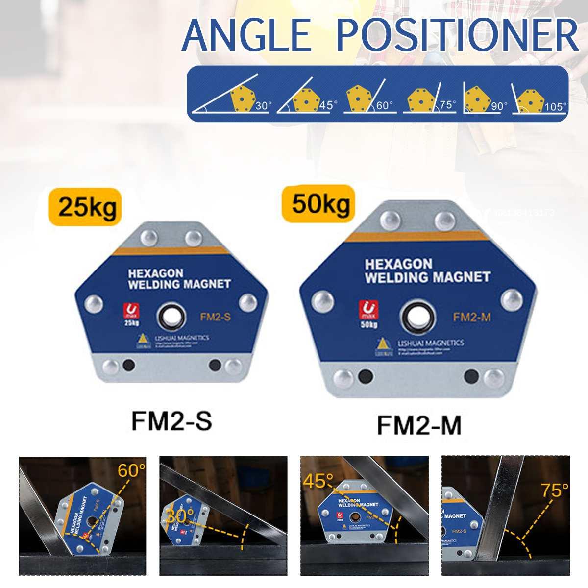 Yeni güçlü ok manyetik kaynak Fixer çok açı pozisyoner hiçbir deformasyon mıknatıs/ferrit kaynak pensi bulucu