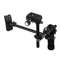 Promotion Dslr Handle Shoulder Support Rig Stabilizer Quick Release Plate 1/4 Inch Screw for Sony A7R A7Ii Camera Follow Focu