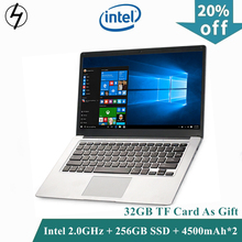 LHMZNIY Laptop 14.1 inch Windows10 Notebook 4GB 256GB SSD FHD screen intel E8000 WIFI Camera slim Student laptop for Office game