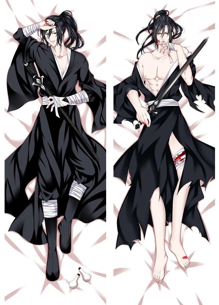 Anime Dakimakura Body Grandmaster Of Demonic Cultivation The Founder Of Diabolism 150x50cm 100x35cm Pillow Case Cover Manga