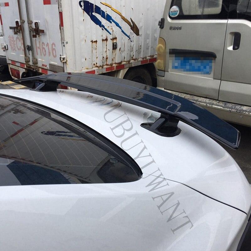 ABS Материал грунтовка цвет с тормозной светильник светодиодный Седан универсальный задний спойлер для Chevrolet спойлер Cruze 2009 2018