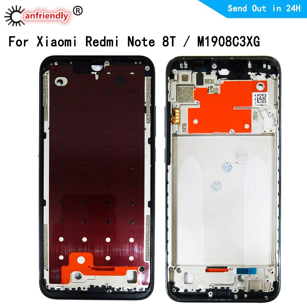 Средняя рамка для Xiaomi Redmi Note 8T M1908C3XG средняя рамка Корпус крышка рамка пластина Лицевая панель для Xiaomi redmi Note 8 Pro