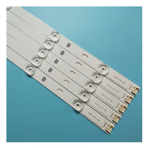 Image 5 - 10 pieces/kit LED strips for L G 50 inch TV 50LB582V ZG 50LB5610 ZC 50LB580V ZM 50LB580U ZM 50LB5700 ZB 50LB5700 ZK T500HVF05.0