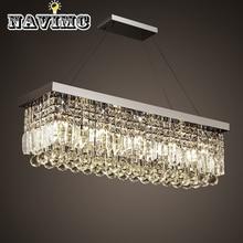 Хрустальная современная люстра художественные светильники для спальни гостиничное освещение зала подвесная винтажная лампа