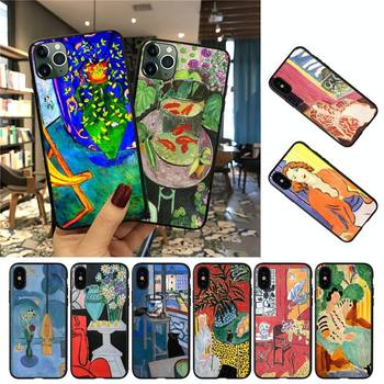 YNDFCNB Henri Matisse Art Painting Phone Case For iPhone 8 7 6 6S Plus 5 5S SE 2020 12pro max XR X XS MAX 11 case image