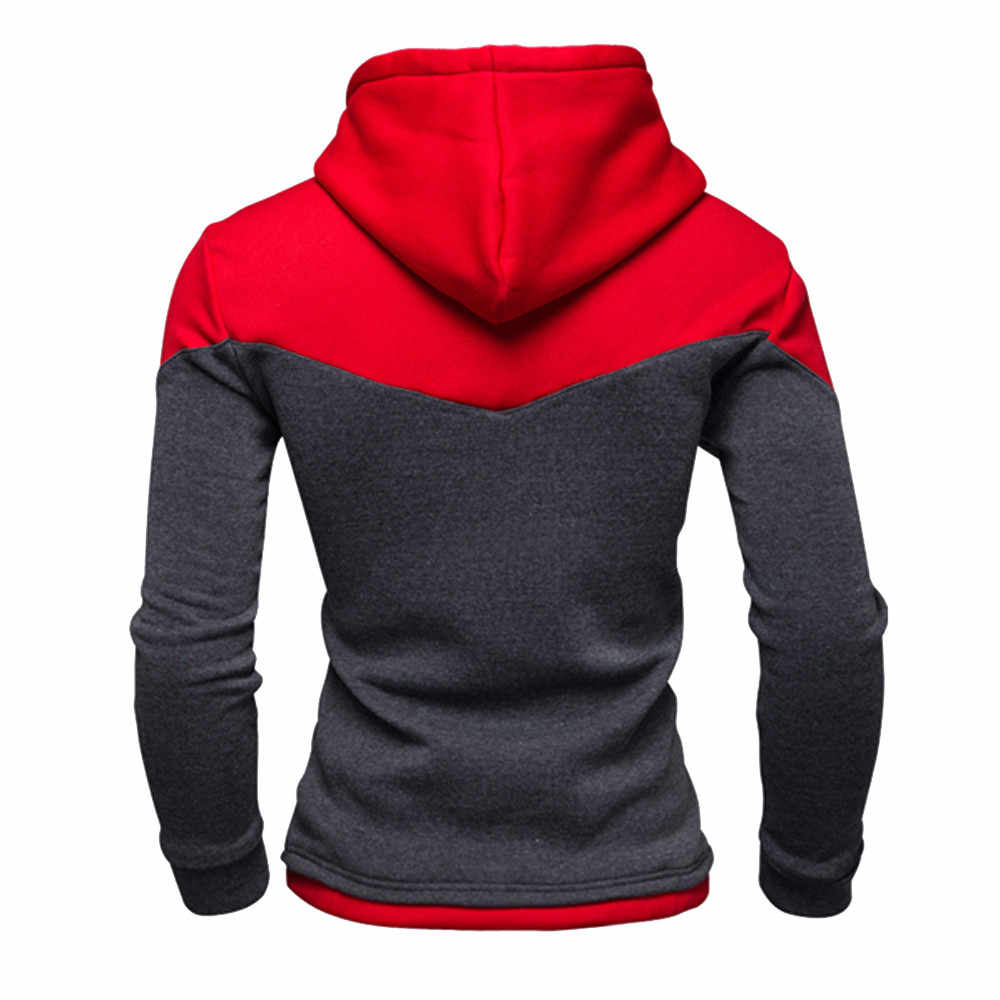 men hoodies 2020 autumn brand male long sleeve patchwork sweatshirt men sky blue black big size moletom sudaderas para hombre