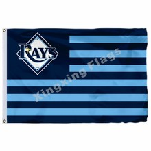 Tampa Bay Rays Logo Flagge Baseball 3ft X 5ft Polyester Banner Fliegen 150X90cm Custom Flagge(China)