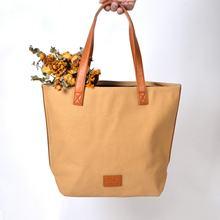 Эко хозяйственная сумка Модная Складная многоразовая кожаная