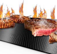 Tapis de barbecue antiadhésif 40*33cm tapis de cuisson téflon cuisson grille de cuisson résistance à la chaleur outils de cuisine facilement nettoyés Autres outils de barbecue Maison & Animalerie -