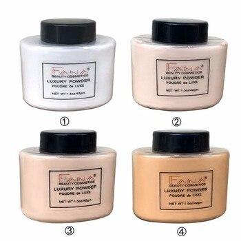 4 Styles Natural Setting Powder Face Makeup Smooth Skin Long-lasting Loose Powder Waterproof Mineral Fixed Make Up Tools TSLM1 1