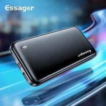Essager 10000 mAh USB batterie d'alimentation mince 10000 mAh Powerbank Portable chargeur de batterie externe pour iPhone Xiaomi mi appauvrbank