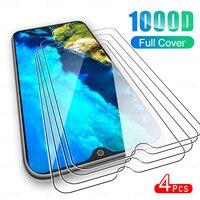 Protector de pantalla de cristal templado para teléfono móvil, película protectora de vidrio de cobertura completa para Cubot P30, Tobot KingKong 5, Note 20 Pro, X30, C30, X 30, 4 Uds.
