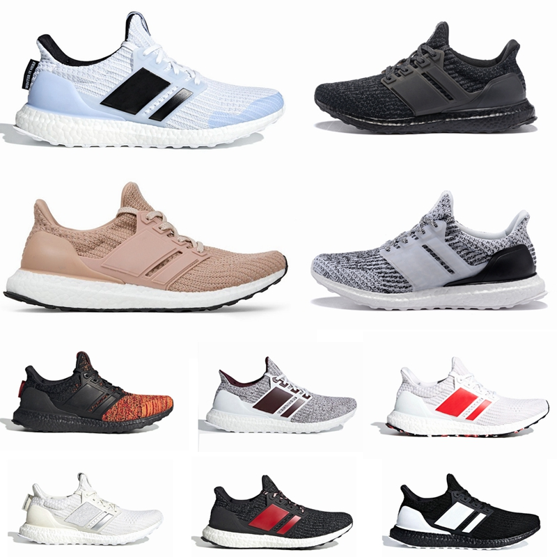 Ultra Boost 3.0 4.0 Black And White Primeknit Oreo CNY Blue Gray Men Women Running Shoes Ultra Boosts Ultraboost Sport Sneakers